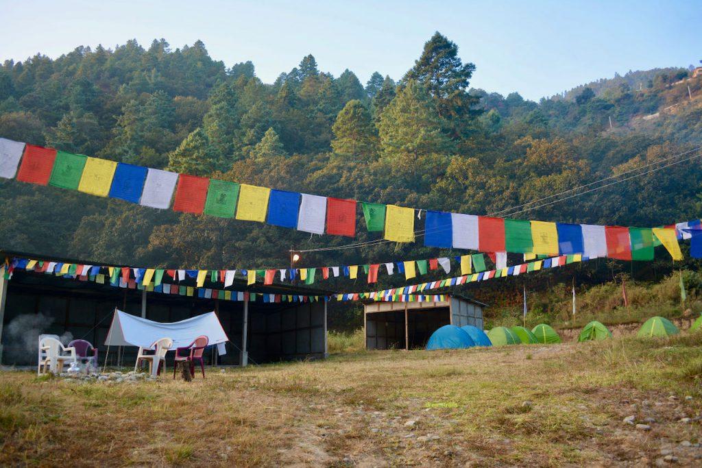 Camp Site at Dirang