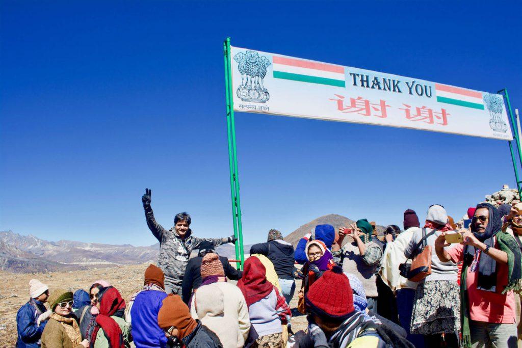India - China Border, Bum La Pass, Tawang, Arunachal Pradesh