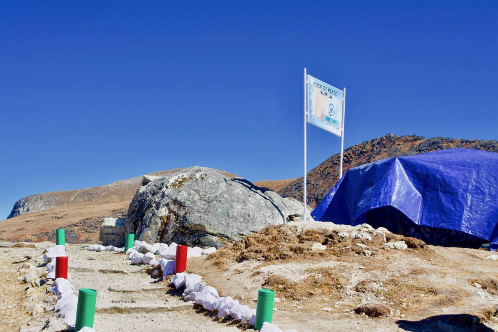 Rock of Peace, Bum La Pass, Tawang, Arunachal Pradesh