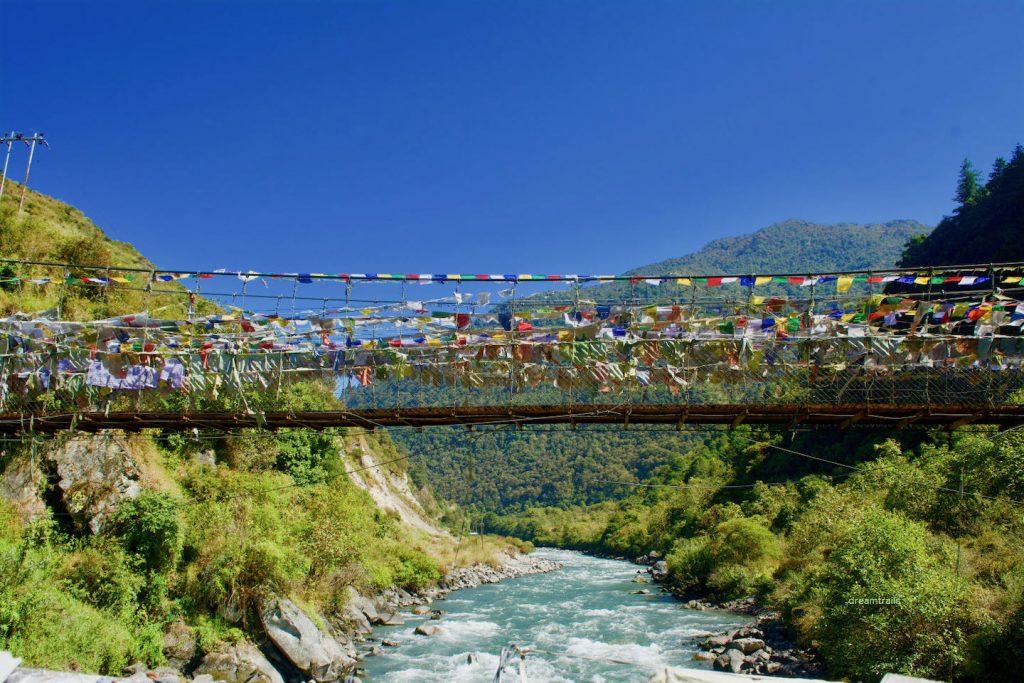 Chaksam Bridge, Tawang, Arunachal Pradesh